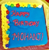 Vegan cake - Happy birthday Mohanji - Global Vegan Club (3)