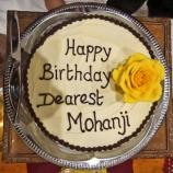 Vegan cake - Happy birthday Mohanji - Global Vegan Club (4)