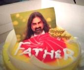 Vegan cake - Happy birthday Mohanji - Global Vegan Club (6)