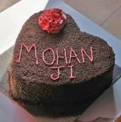Vegan cake - Happy birthday Mohanji - Global Vegan Club (7)