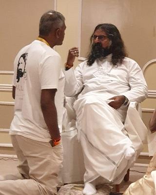 Vijay with Mohanji