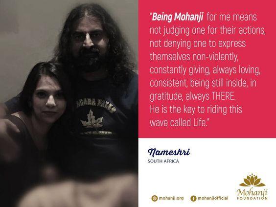 Mohanji and Nameshri