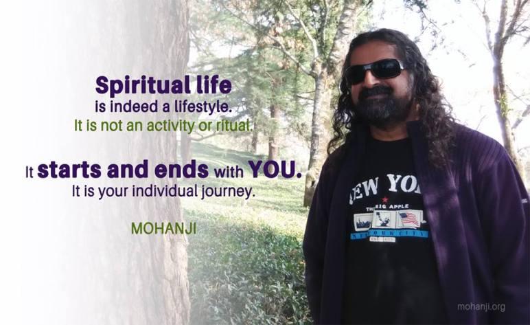 mohanji on spirituality
