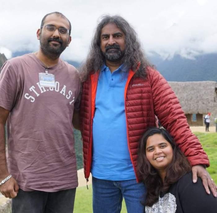 Meeting Mohanji with Rakshitha Ananth