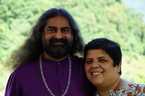 preethi with Mohanji