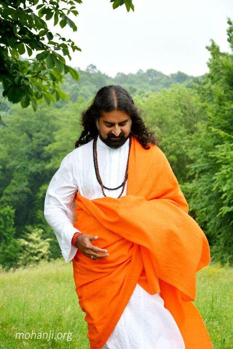 mohanji orange and white