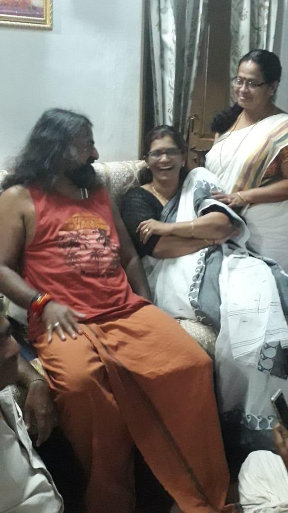 Surya with Mohanji