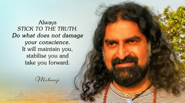 mohanji on truth