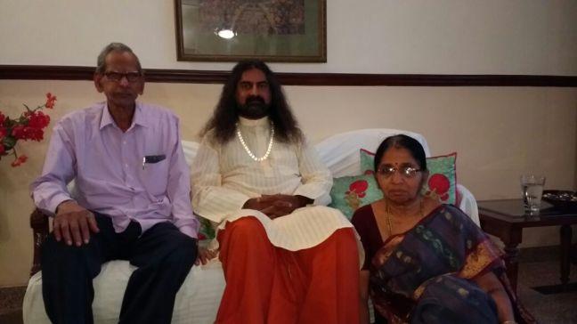 Mohanji and Neelu parents