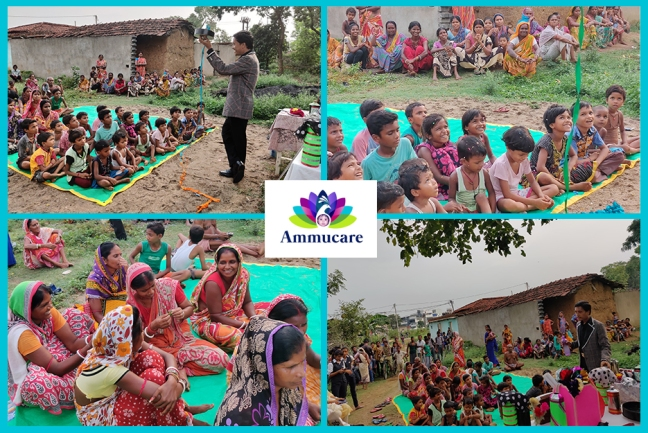 Ammucare for women - Mohanpur - fun after gifting - Guru Purnima 2019