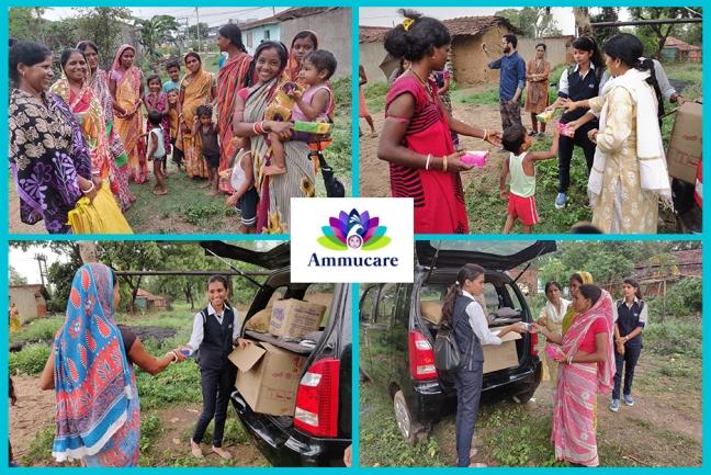 Ammucare for women - Mohanpur - Guru Purnima 2019 - seva