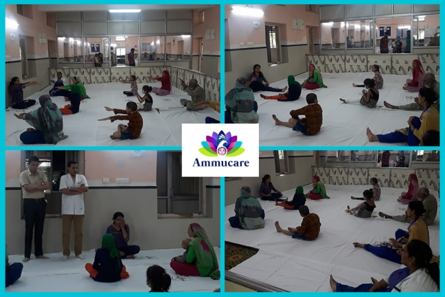Ammucare - Jammu - Yoga for cancer patients - Guru Purnima 2019