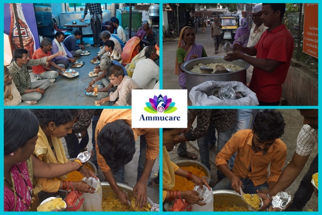 Ammucare - Shirdi - Guru Purnima 2019- annaadan