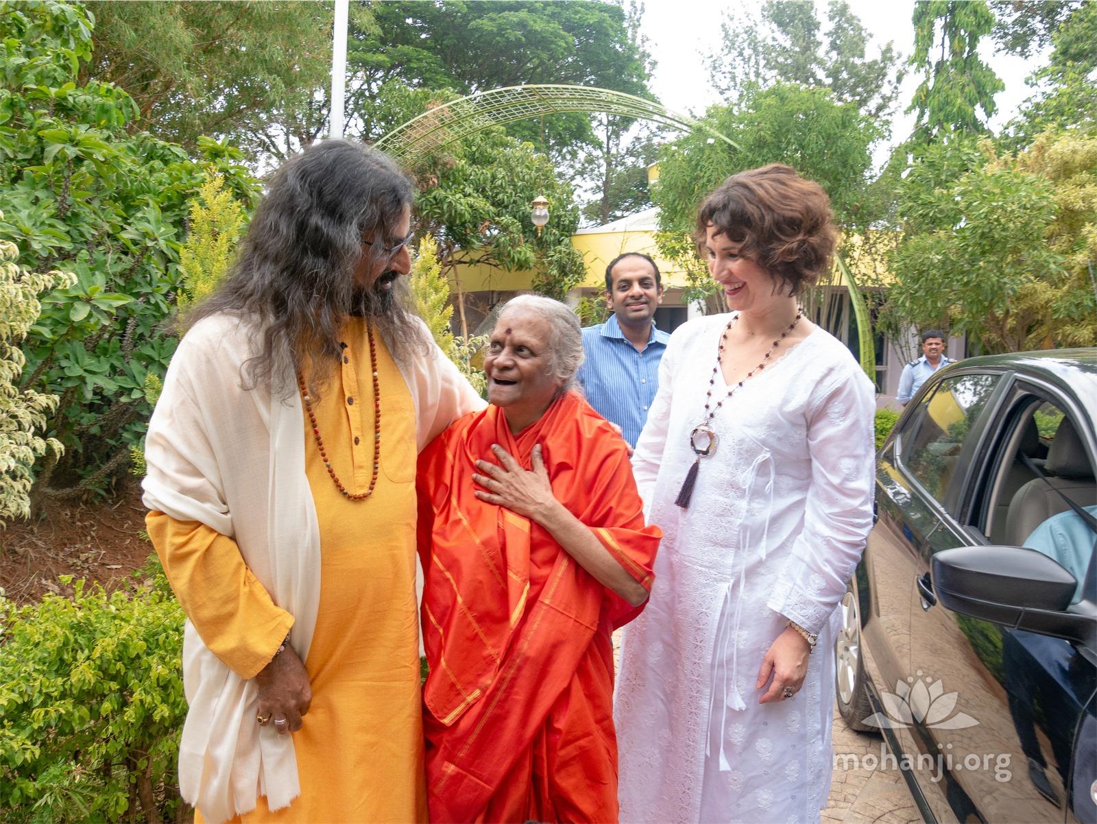 Mohanji and Devi Amma