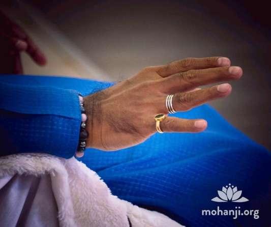 Mohanji hands