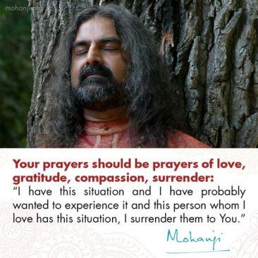 Mohanji prayers