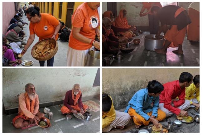 ACT USA in Varanasi, India- Mohanji's 55th birthday