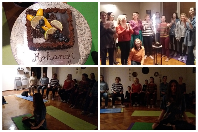 Belgrade meditation, Mohanjis 55th birthday