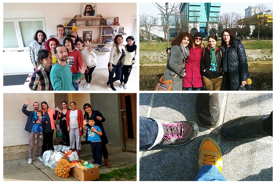 Bosnia - Mohanji's 55th birthday - charity, meditation and Conscious Walking