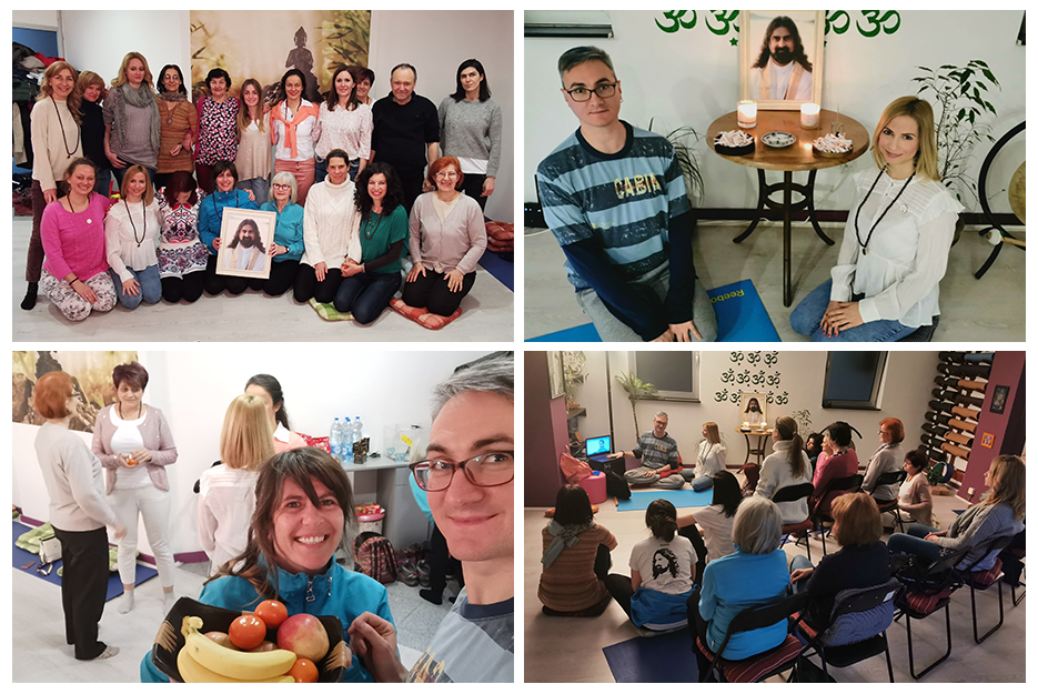Mohanji's 55th birthday in Novi Sad, meditation