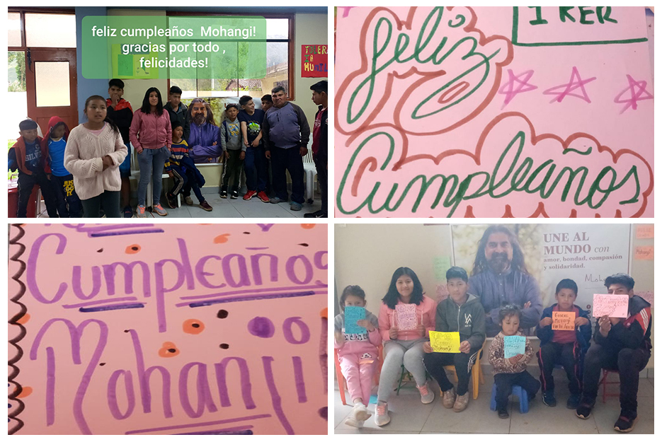 Peru - Mohanji's 55th birthday celebration-charity