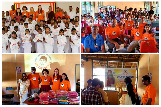 ACT in Sri Lanka United Kingdom - Mohanji's 55th birthday celebration