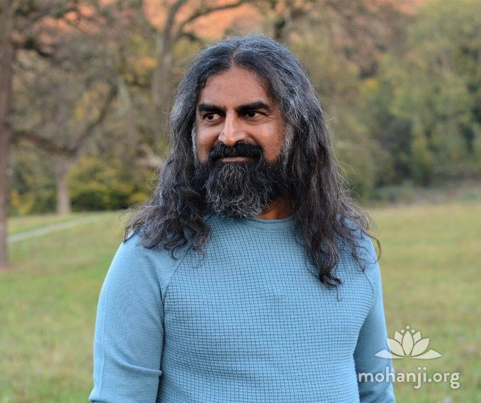 Mohanji in blue