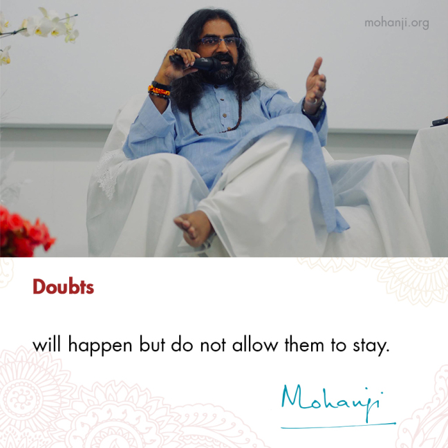 mohanji-quote-doubts
