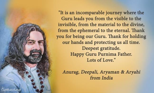 Anurag, Deepali from INdia