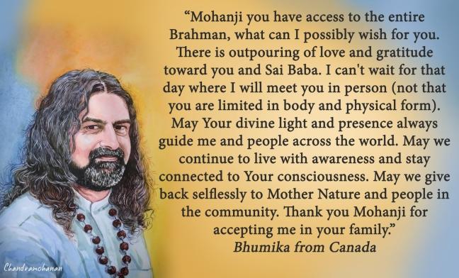 Bhumika from Canada