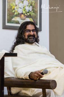Mohanji in white