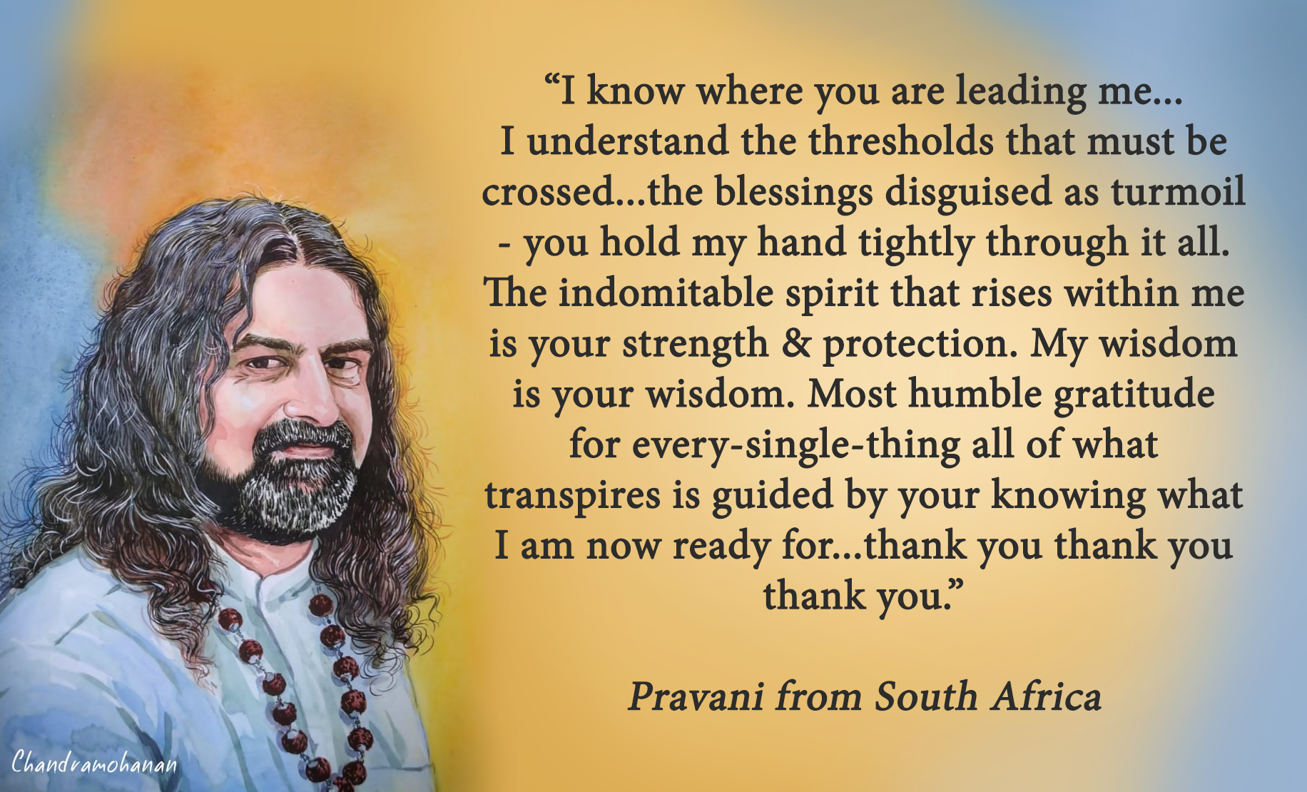 Pravani from South Africa