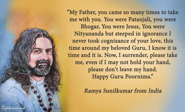 Ramya S from India