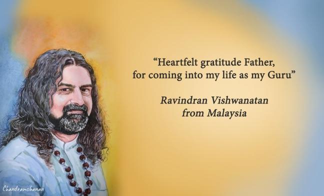 Ravindran from Malaysia