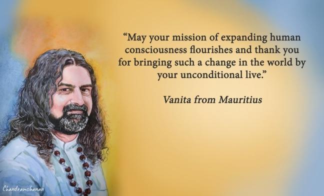 Vanita from Mauritius