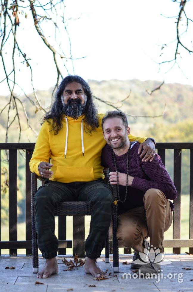 chris and Mohanji